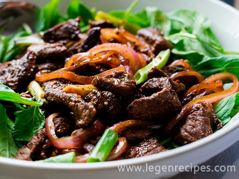 Simple Sundays | Shaking Beef Vietnamese Stir Fry