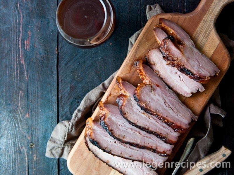 Stout Brined Crispy Chili Brown Sugar Pork Belly