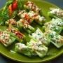 Stuffed celery bites