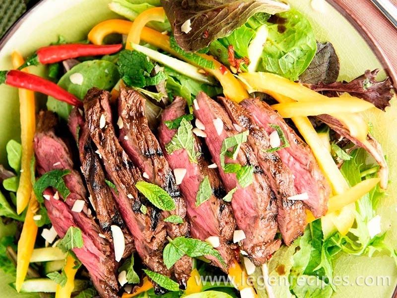 Thai-Style Steak Salad