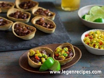 Vegetable Chili Mini Boats