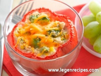 Veggie Delight Stuffed Peppers
