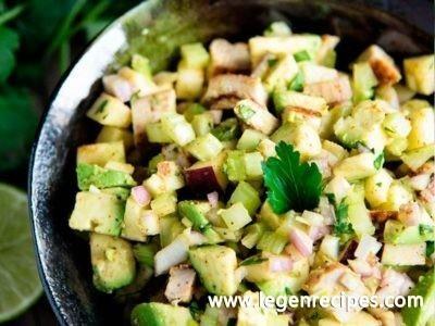 Avocado, Apple And Chicken Salad Recipe
