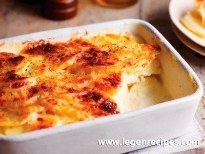 Celeriac and potato dauphinoise recipe