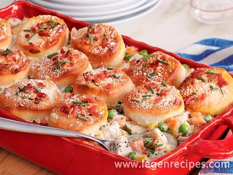 Chicken Biscuit Pot Pie