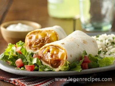 Classic Bean and Cheese Burritos