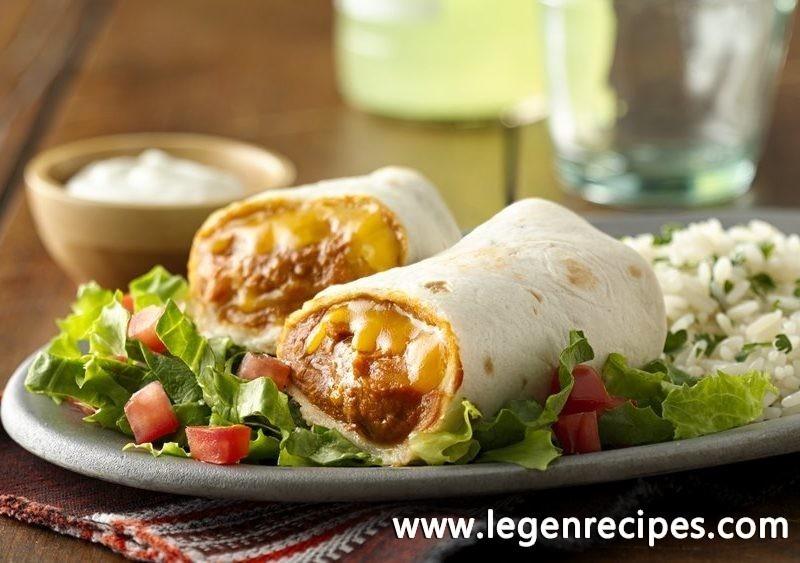 Classic Bean and Cheese Burritos