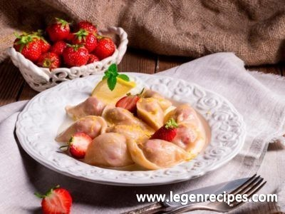 Strawberry Dumplings Recipe