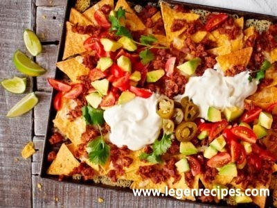 Easy nachos recipe
