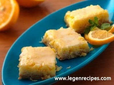 Glazed Lemon-Coconut Bars