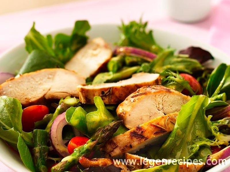 Grilled Chicken Garden Salad