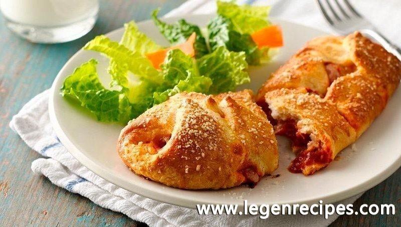 Italian Meatball Hoagie Braids