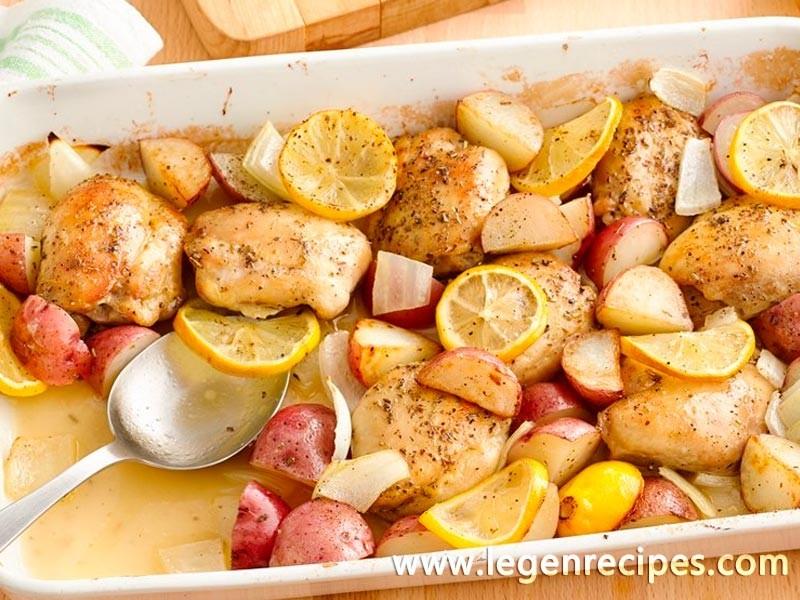 Lemon Chicken with Potatoes