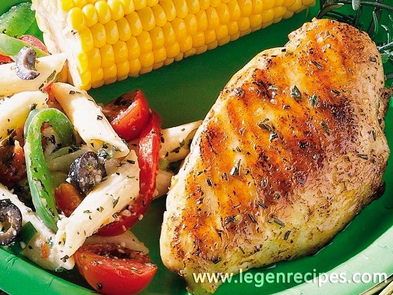 Lemon-Rosemary Grilled Chicken - Legendary Recipes