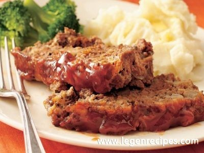 Maple-Glazed Meatloaf