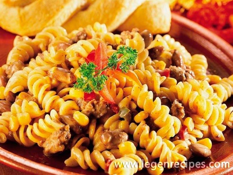 Southwestern Pasta Skillet