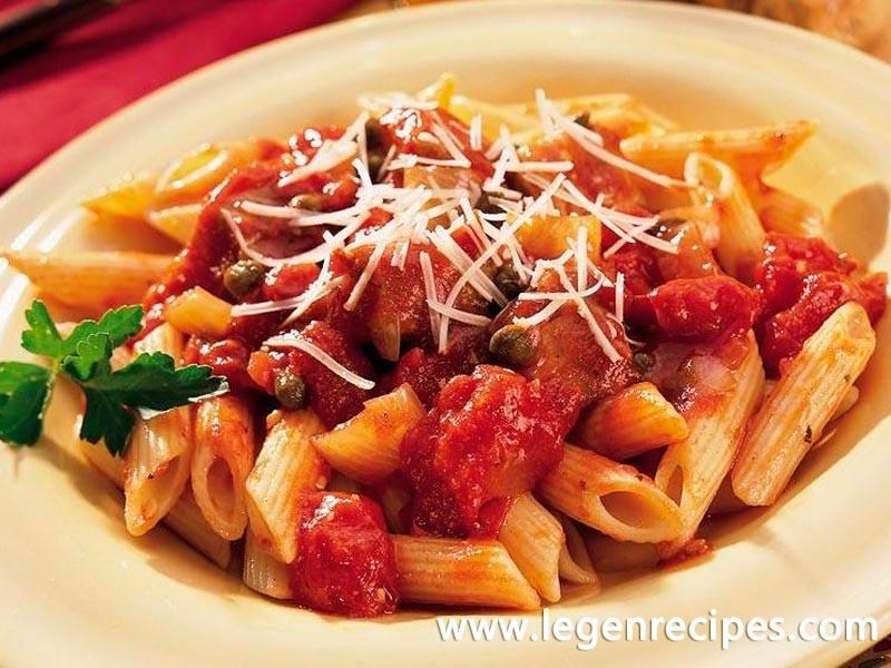 Tuna, Tomato and Penne Pasta