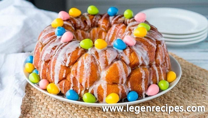 Easter Egg Monkey Bread