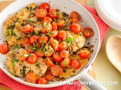 Easy Mediterranean Chicken