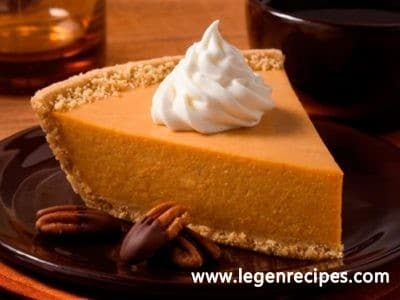Easy no-bake pumpkin pie