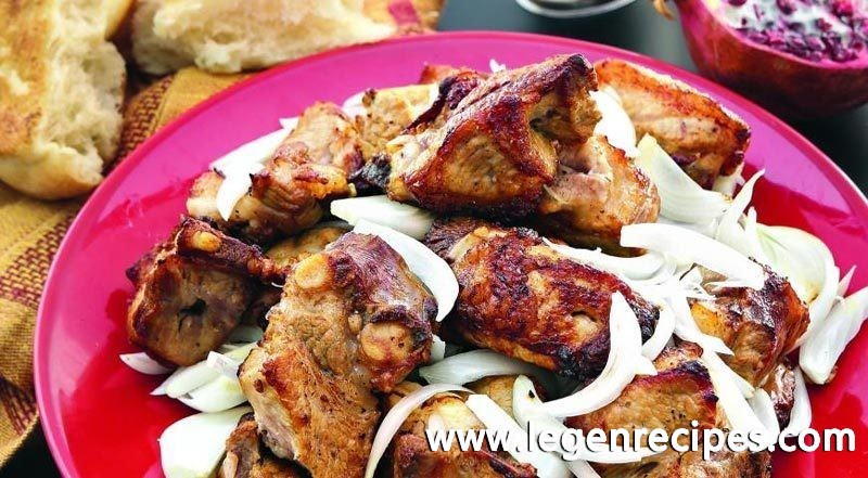 Georgian shish kebab (Georgian Grilled Meats)