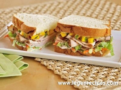 The jamaican sandwich