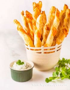 Cheddar Chipotle Cheese Straws