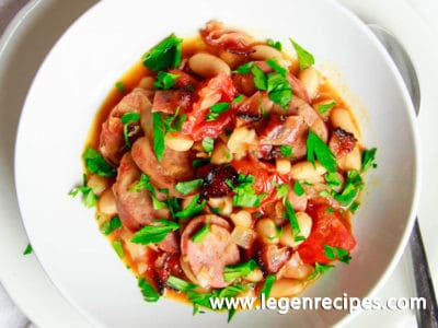 Italian Chicken Sausage and White Bean Stew