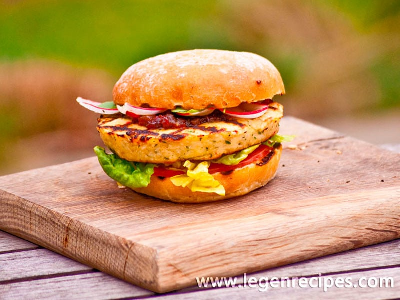 how to cook fish burgers