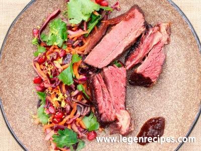 BBQ smoked beef short rib