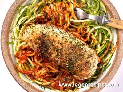Skillet Garlic Basil Chicken Recipe